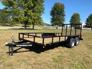 Utility Trailer Sale - New 2020 Gator 16ft Utility Trailer