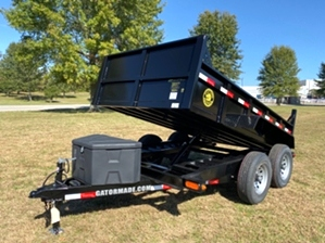 Dump Trailer On Sale   Gatormade 6x10 Dump Trailer - Our Newest Dump Trailer Is For Sale
