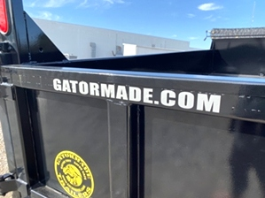 Trailer Sale 2020 16ft Gooseneck Dump Trailer | Trailer Sale At Gatormade Trailers $12,290