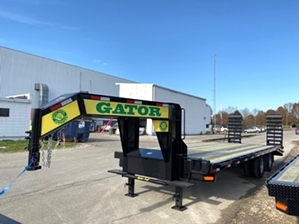Gooseneck Tandem Dual Trailer On Sale | Gooseneck Trailer On Sale At Gatormade Trailers For $7,995