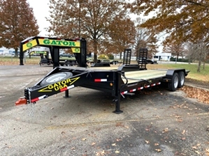 Tilt Bed Equipment Trailer For Sale At Gatormade Trailers  Tilt Bed Equipment Trailer For Sale! This trailer features 4ft fix platform, 16ft tilt bed, commercial series axles and tires, 16,000 GVW, and more!