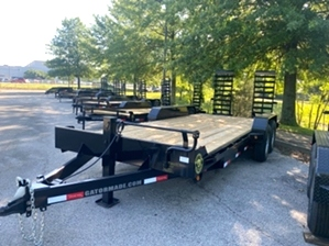 Equipment Trailer Commercial Grade  Equipment Trailer Commercial Grade. 18+3 14k equipment trailer. This trailer features wide loading stand up ramps, 2 7000# Dexter axles, and a 3ft dovetail.