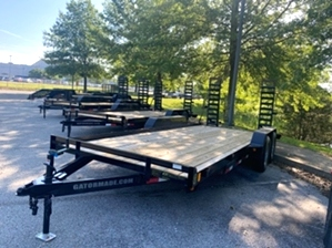 Equipment Trailer  Equipment Trailer. A 10,400# GT-XT Gatormade Equipment trailer. This trailer features easy to use stand up ramps, diamond tread fenders, and a heavy duty frame.